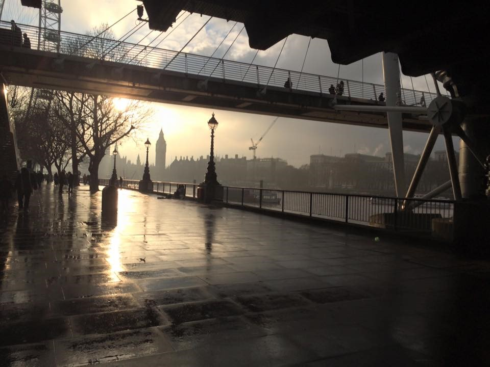 London - It Rained