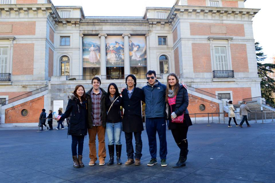 Madrid - Group at Prado